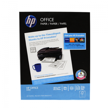 PAPEL  CARTA  HP AZUL P/500...
