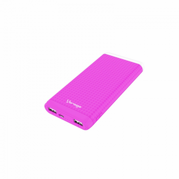 POWER BANK VORAGO PB-400 ROSA