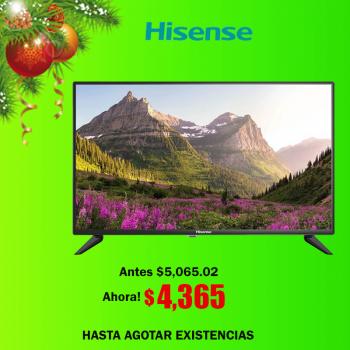 "TV LED 32"" HD HISENSE MOD...."