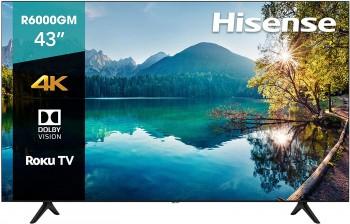 """TV. HISENSE 43"""" 4K SMART..."""